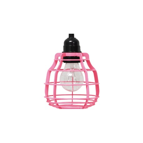 Różowa lampa z włącznikiem LAB - HK Living