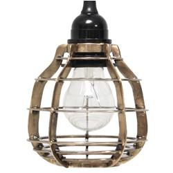 Mosiężna lampa wisząca LAB - HK Living