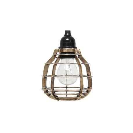 Mosiężna lampa z włącznikiem LAB - HK Living