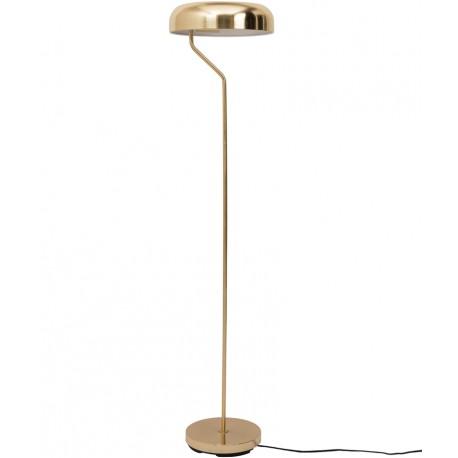 Mosiężna lampa podłogowa Eclipse - Dutchbone