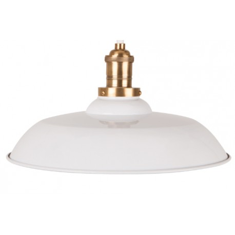 Biała lampa wisząca Core - Dutchbone