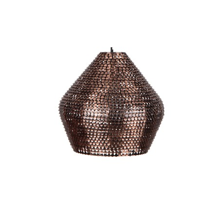Miedziana lampa wisząca Cooper średnia - Dutchbone