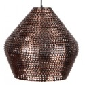 Miedziana lampa wisząca Cooper duża - Dutchbone