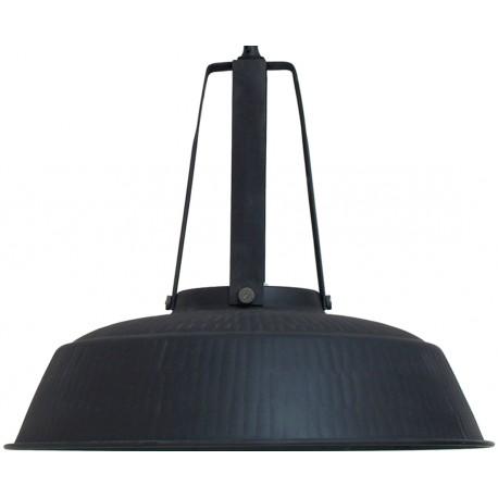 Rustykalna lampa wisząca Workshop XL (czarna matowa) - HK Living