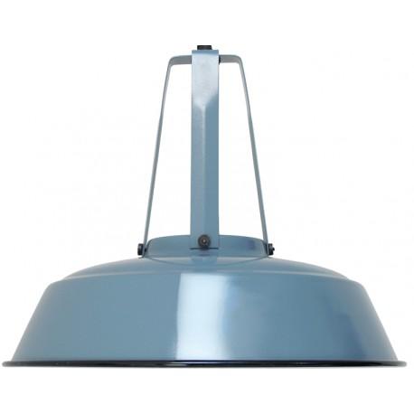 Niebieska lampa industrialna Workshop - HK Living