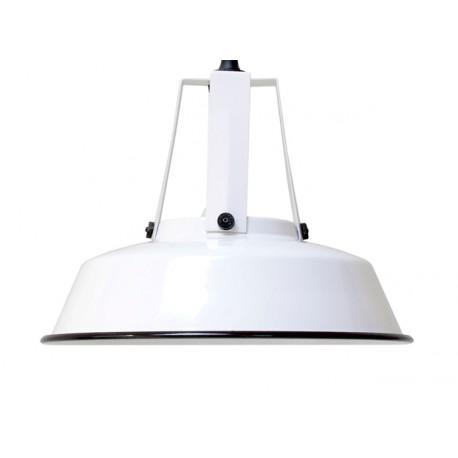 Biała lampa industrialna Workshop M - HK Living