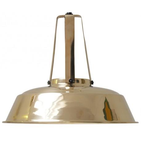 Mosiężna lampa przemysłowa Workshop L - HK Living