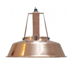 Miedziana lampa industrialna Workshop M - HK Living