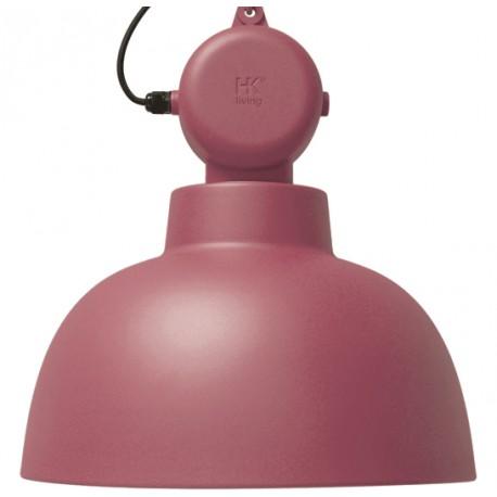 Przemysłowa lampa wisząca Factory L, marsala - HK Living