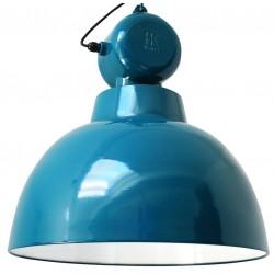 Niebieska lampa przemysłowa Factory