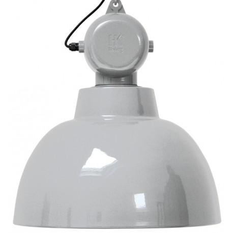 Industrialna lampa wisząca Factory L, jasnoszara - HK Living