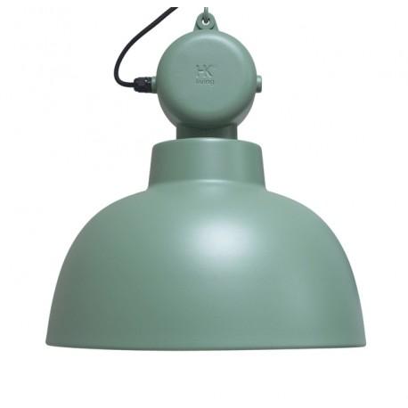 Zielona lampa industrialna Facotry M, mat - HK Living