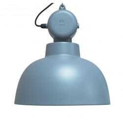 Fabryczna lampa wisząca Factory M, niebieska - HK Living