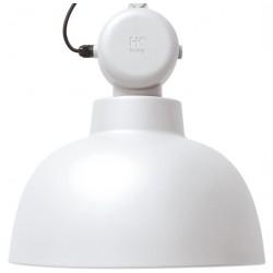 Metalowa lampa wisząca Factory M, biały mat - HK Living