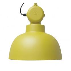 Żółta lampa metalowa Factory M, mat - HK Living
