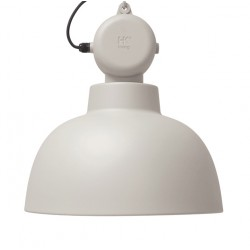 Piaskowa lampa wisząca Factory M, mat - HK Living