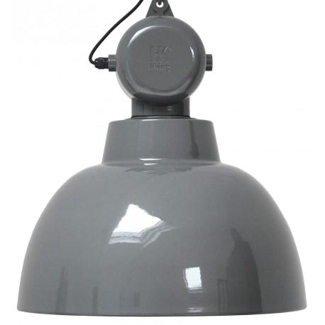 Szara lampa fabryczna Facotry L - HK Living