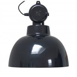 Czarna lampa metalowa Factory M - HK Living