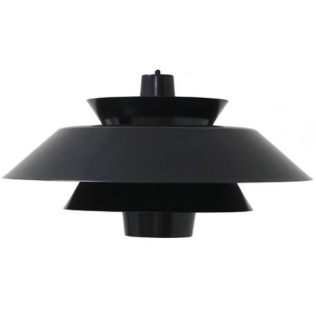 Czarna lampa wisząca Lounge do nowoczesnych wnętrz