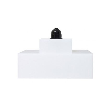 Biała lampa wisząca Plexi Lounge - HK Living