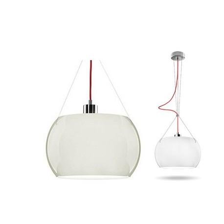 Śnieżnobiała lampa MOMO – połysk – Sotto Luce