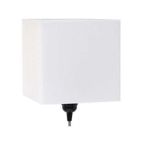 Biała lampa ścienna PLEXI - HK Living