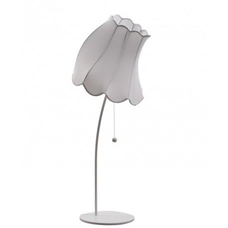 Biała lampa podłogowa FLOWN UP M - Zuiver