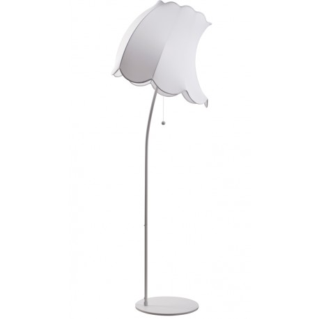 Biała lampa podłogowa Flown Up L - Zuiver