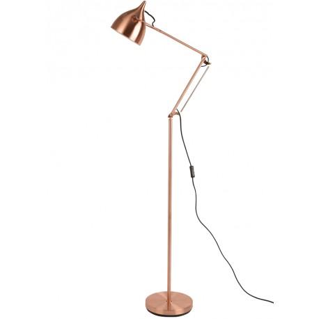 Miedziana lampa podłogowa READER - Zuiver