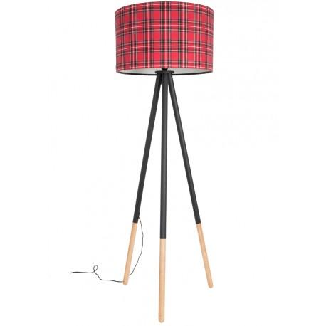 Lampa trójnożna Highland szkocka krata - Zuiver