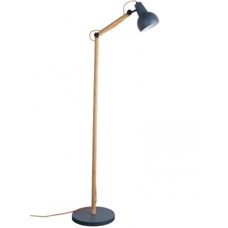 Szara lampa podłogowa Study - Zuiver