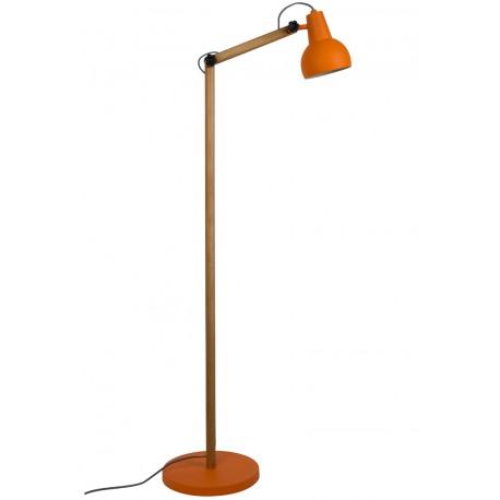Pomarańczowa lampa podłogowa Study - Zuiver