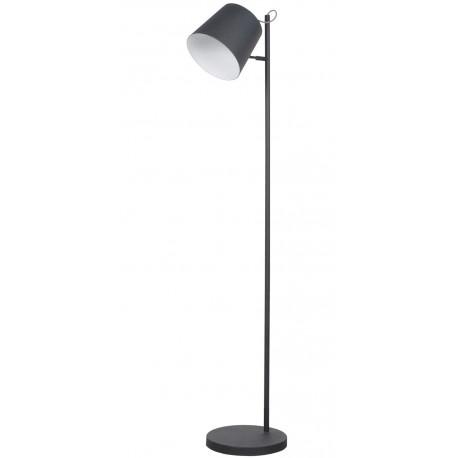 Czarna lampa podłogowa Buckle Head - Zuiver