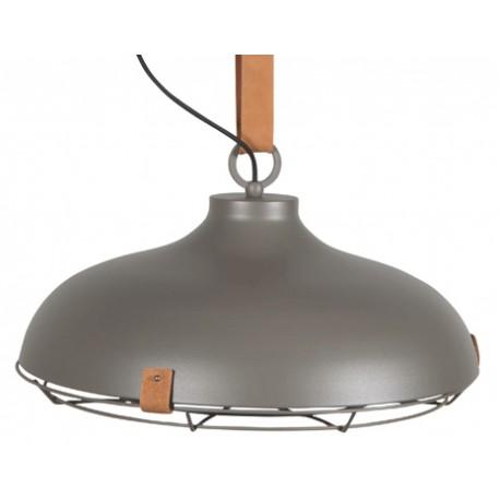 Industrialna lampa wisząca DEK 51 szara - Zuiver