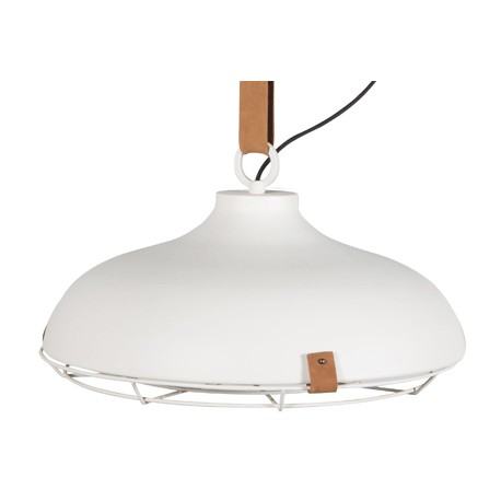 Biała lampa industrialna DEK 51 - Zuiver