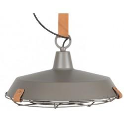 Subtelna lampa industrialna DEK 40 szara - ZUIVER