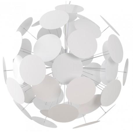 Nowoczesna lampa wisząca PLENTY WORK biała - Zuiver