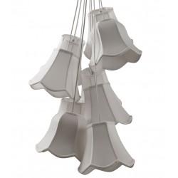 Biała lampa wisząca GRANNY - Zuiver