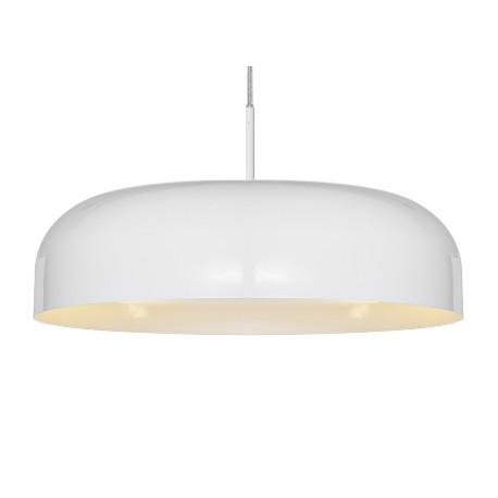 Lakierowana lampa wisząca OV biała
