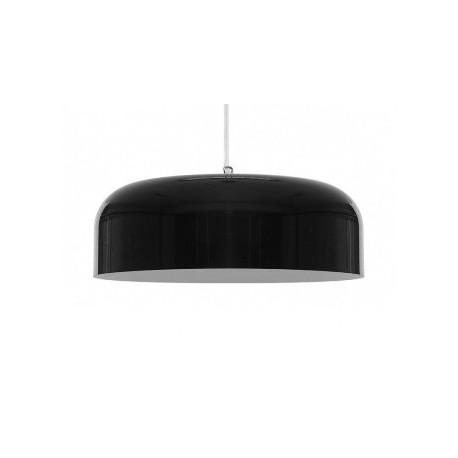 Lakierowana lampa wisząca OV czarna