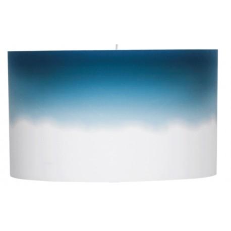 Jasna lampa wisząca DIP DYE WIDE niebieska - ZUIVER