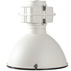 Biała lampa wisząca VIC INDUSTRY mat - ZUIVER