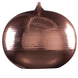 Miedziana lampa wisząca HAMMERED ROUND - ZUIVER