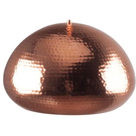 Miedziana lampa wisząca HAMMERED OVAL - ZUIVER