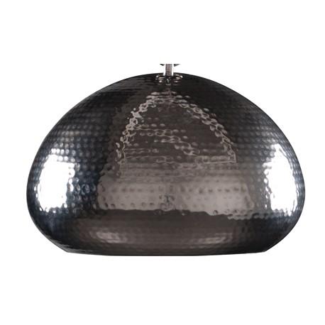 Niklowana lampa wisząca HAMMERED OVAL - Zuiver