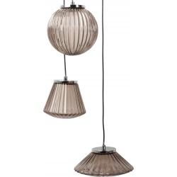 Nietuzinkowa lampa wisząca SPARKLE zadymiona - ZUIVER