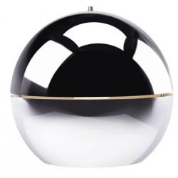 Chromowana lampa wisząca Retro 70' (r50) - Zuiver