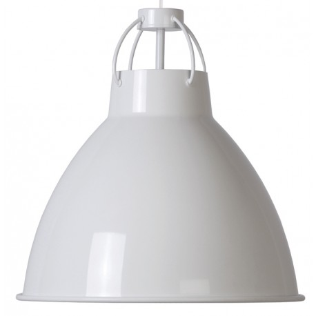 Metalowa lampa wisząca DELIVING (biała) - ZUIVER