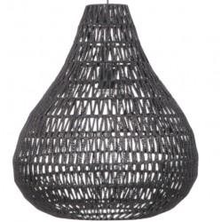 Nietuzinkowa lampa wisząca CABLE DROP czarna - ZUIVER