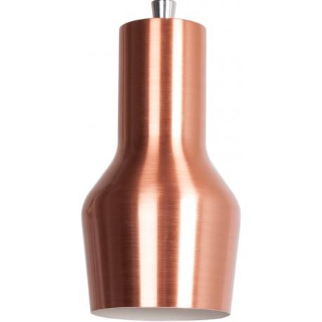 Metalowa lampa wisząca MORA S miedziana - ZUIVER